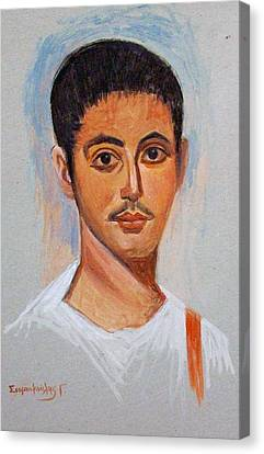 Portrait Canvas Print by George Siaba