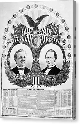 Presidential Campaign, 1876 Canvas Print by Granger