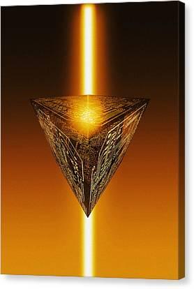 Quantum Computing Canvas Print by Mehau Kulyk