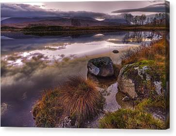 Rannoch Moor Glencoe Scotland Canvas Print