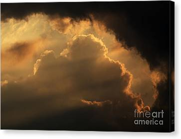 Sky Canvas Print by Odon Czintos