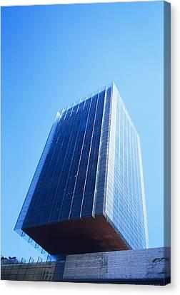 Skyscraper Canvas Print by Carlos Dominguez