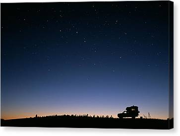 Starry Sky Canvas Print by David Nunuk