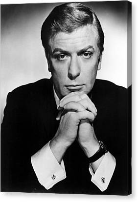 The Ipcress File, Michael Caine, 1965 Canvas Print by Everett