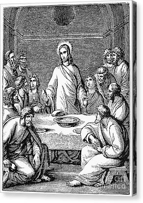 The Last Supper Canvas Print by Granger