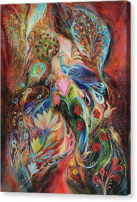 The Magic Garden Canvas Print by Elena Kotliarker