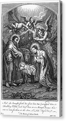 The Nativity Canvas Print by Granger