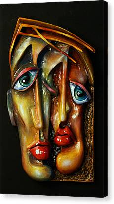 'together' Canvas Print by Michael Lang