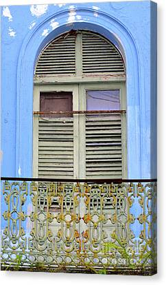 Architectural Series  Canvas Print by Terry Troupe