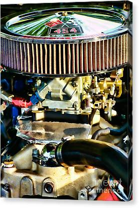 454 Horsepower Canvas Print by Colleen Kammerer