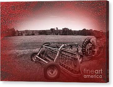 47 Bales Canvas Print by The Stone Age