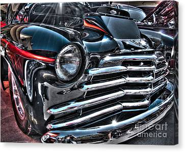48 Chevy Convertible 2 Canvas Print by Anthony Wilkening