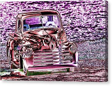 48 Pick Up Canvas Print