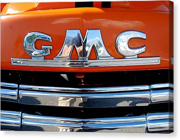 Canvas Print featuring the photograph '49 G M C by John Schneider