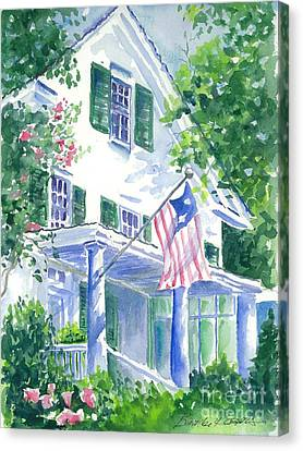 4th Of July In Georgia Canvas Print by Bambi Rogers