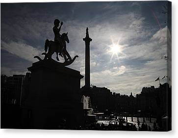 4th Plinth 3 Canvas Print by Jez C Self