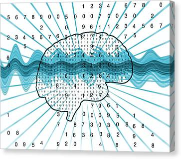 Artificial Intelligence, Artwork Canvas Print by Mehau Kulyk