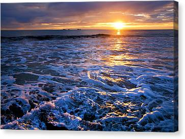 Burns Beach Canvas Print by Imagevixen Photography