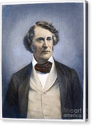 Charles Sumner (1811-1874) Canvas Print by Granger
