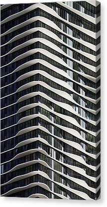 Canvas Print featuring the photograph Chicago Architecture by Paul Plaine