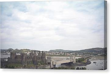 Conwy Castle Canvas Print by Christopher Rowlands