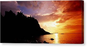 Dunluce Castle, Co Antrim, Ireland Canvas Print by The Irish Image Collection