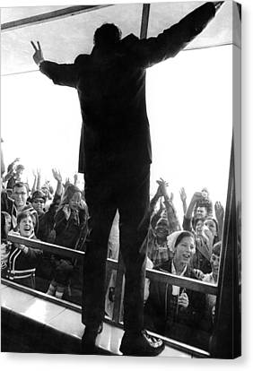 Former Vice President Richard Nixon Canvas Print by Everett