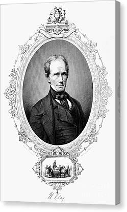 Henry Clay (1777-1852) Canvas Print by Granger