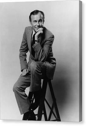 Jack Paar 1918-2004, American Canvas Print by Everett