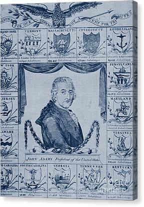 John Adams, 2nd American President Canvas Print by Photo Researchers