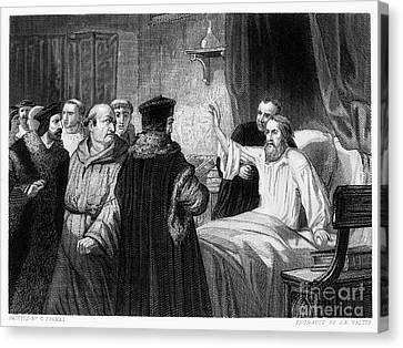John Wycliffe (1320?-1384) Canvas Print by Granger