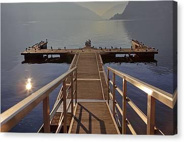 Lago Di Lugano Canvas Print by Joana Kruse