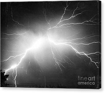 Lightning Canvas Print by Science Source