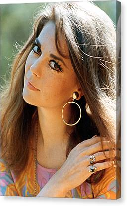 Natalie Wood Canvas Print by Everett