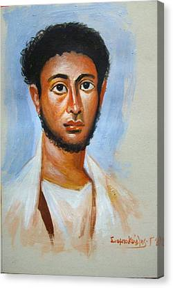 Portrait Canvas Print by George Siaba