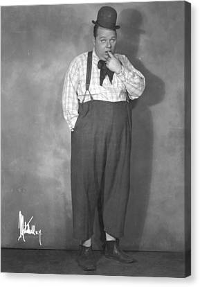 Roscoe Fatty Arbuckle Canvas Print by Granger