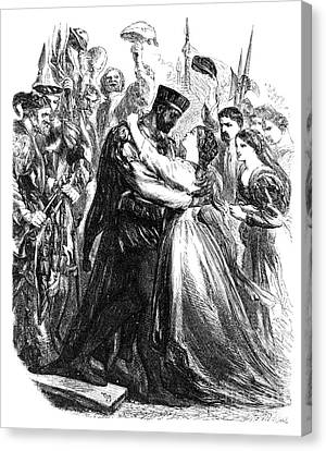Shakespeare: Othello Canvas Print by Granger