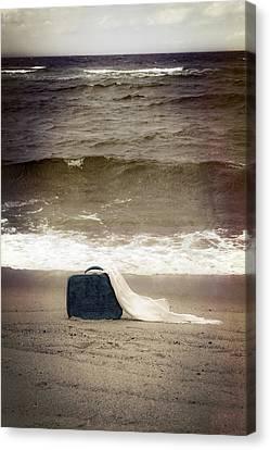 Suitcase Canvas Print by Joana Kruse