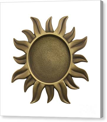 Sun Star Canvas Print by Blink Images