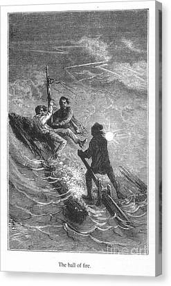 Verne: Journey Canvas Print by Granger