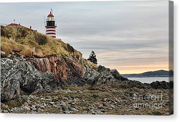 West Quoddy Head Lighthouse Canvas Print by Jack Schultz