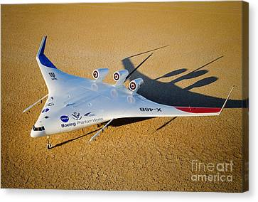 X-48b Blended Wing Body Canvas Print