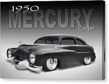 Lowrider Canvas Print - 50 Mercury Coupe by Mike McGlothlen