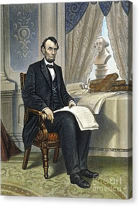 Abraham Lincoln Canvas Print by Granger
