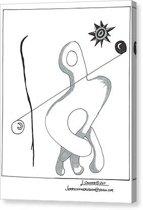 Picasso Canvas Print by Jerry Conner