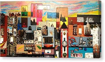 57th Street Kaleidescope Canvas Print by Robert Handler