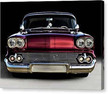 '58 Impala Custom Canvas Print by Douglas Pittman