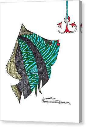 Fish Canvas Print by Jerry Conner