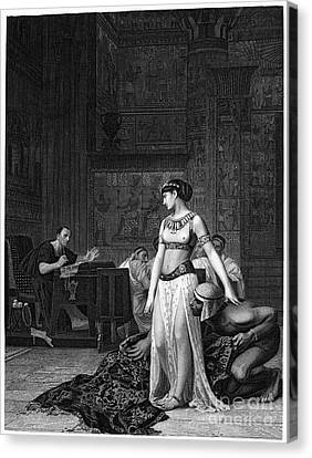 Cleopatra Vii (69-30 B.c.) Canvas Print by Granger