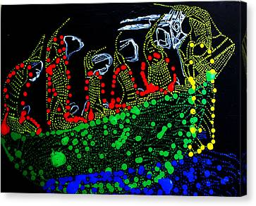 Dinka Wise Virgins Canvas Print by Gloria Ssali